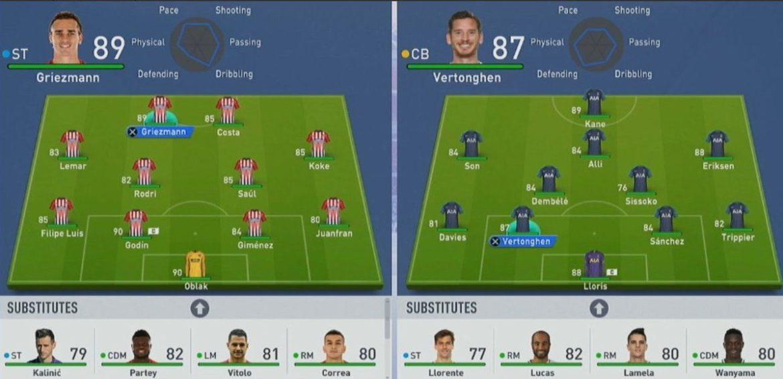 Leakate le statistiche di alcuni giocatori di FIFA 19