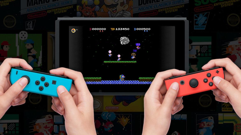 Retrogaming con Nintendo Switch