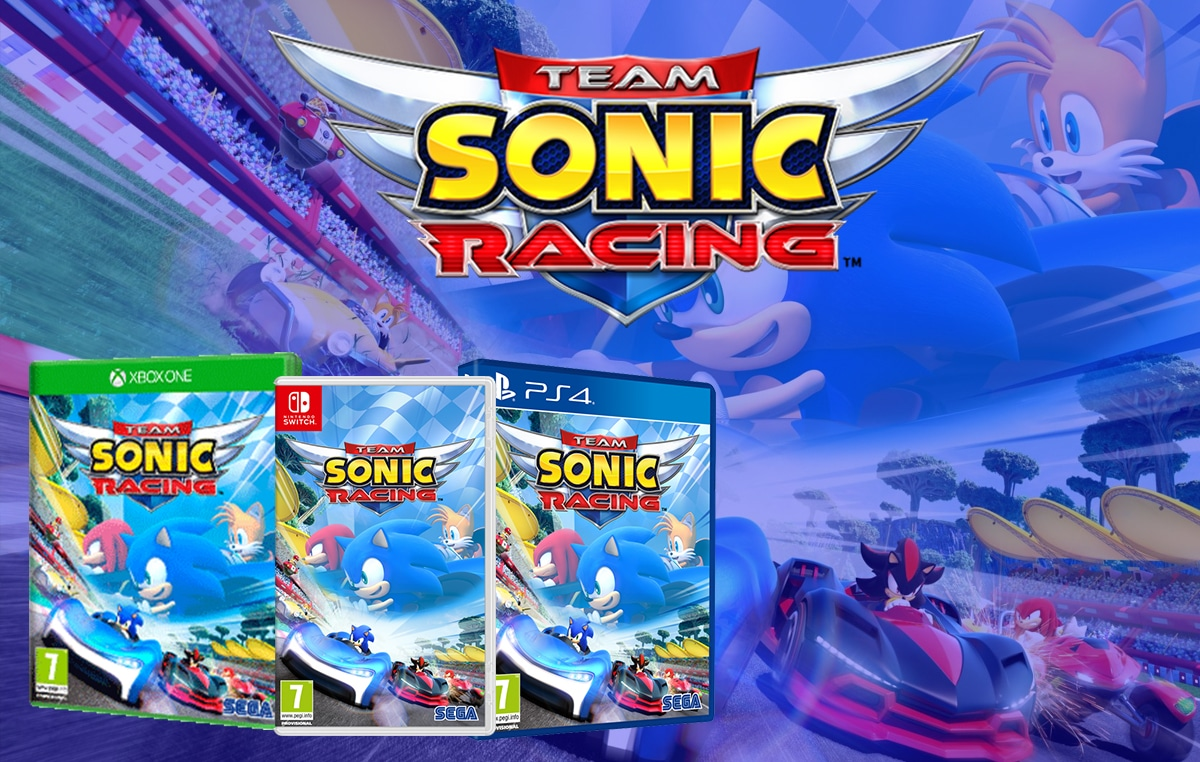 Ongame franchising videogames TEAM SONIC RACING (2)